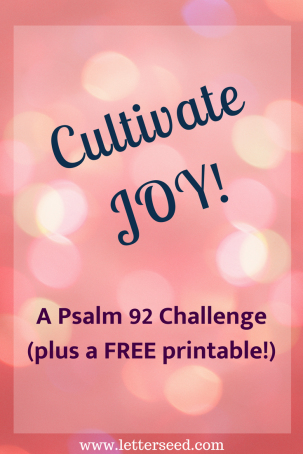 Cultivate JoyPIN
