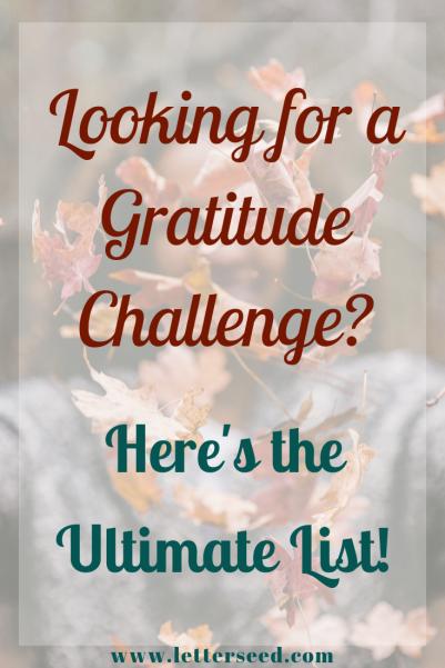 GratitudeChallengeLists