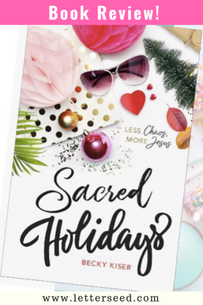 Book Review_ Sacred Holidays, by Becky Kiser