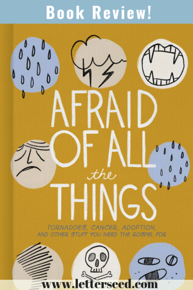 Book Review Afraid Of All The Things, by Scarlet Hiltibidal